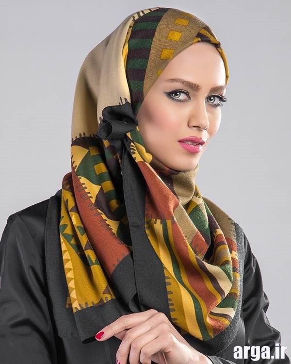 شیوه های مدرن بستن روسری