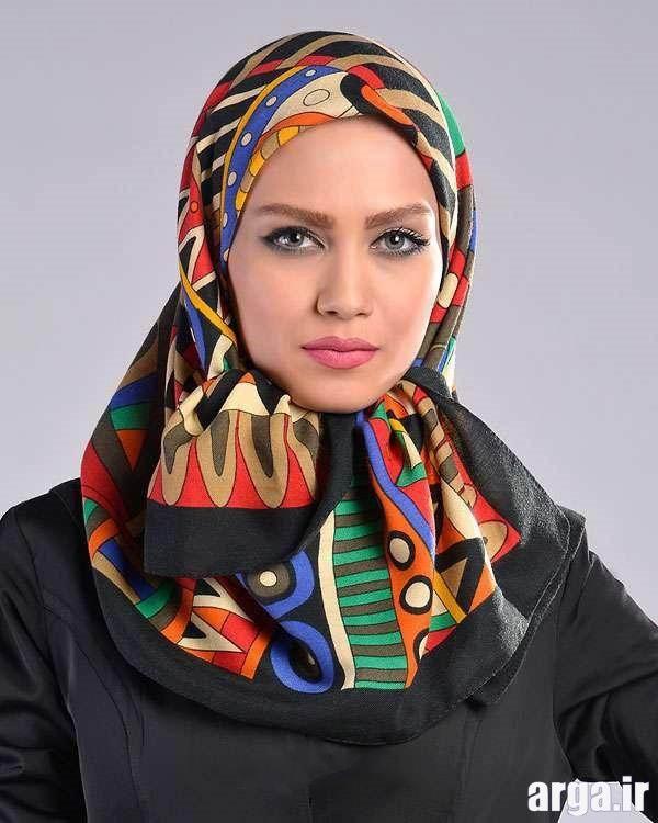 بستن روسری به شیوه زیبا