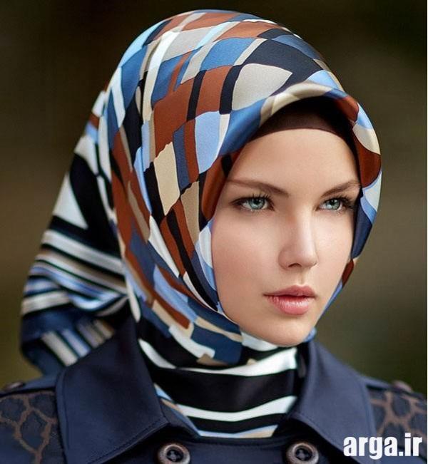 بستن روسری به شیوه مدرن