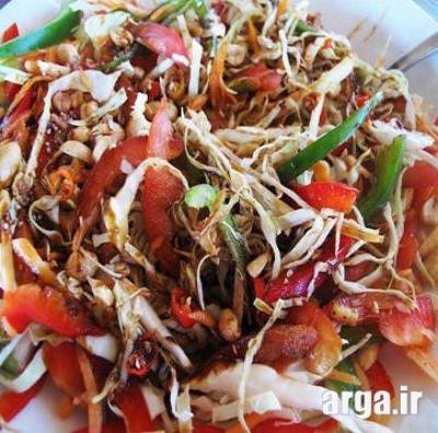 طعم مطلوب در سالاد اندونزی