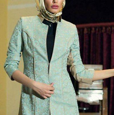 مدل مانتو مجلسی دخترانه