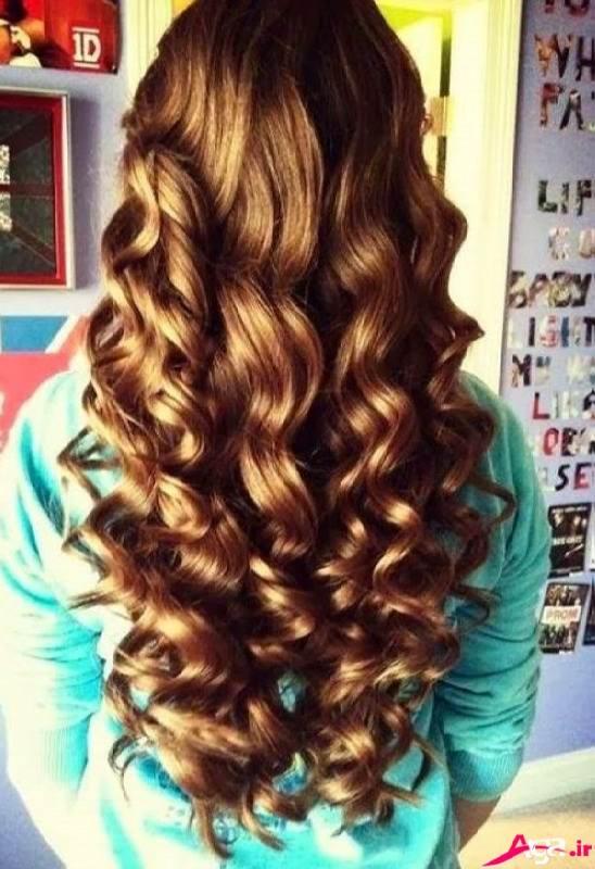 مدل موی باز و شینیون زیبا