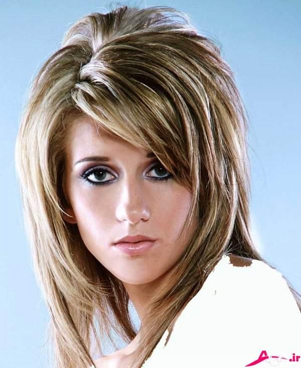 مدل مو های باز برای مو های کوتاه و متوسط