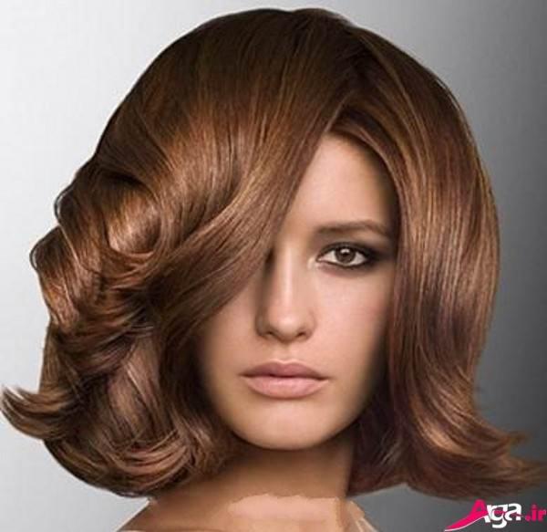 شینیون باز برای مو های کوتاه و متوسط