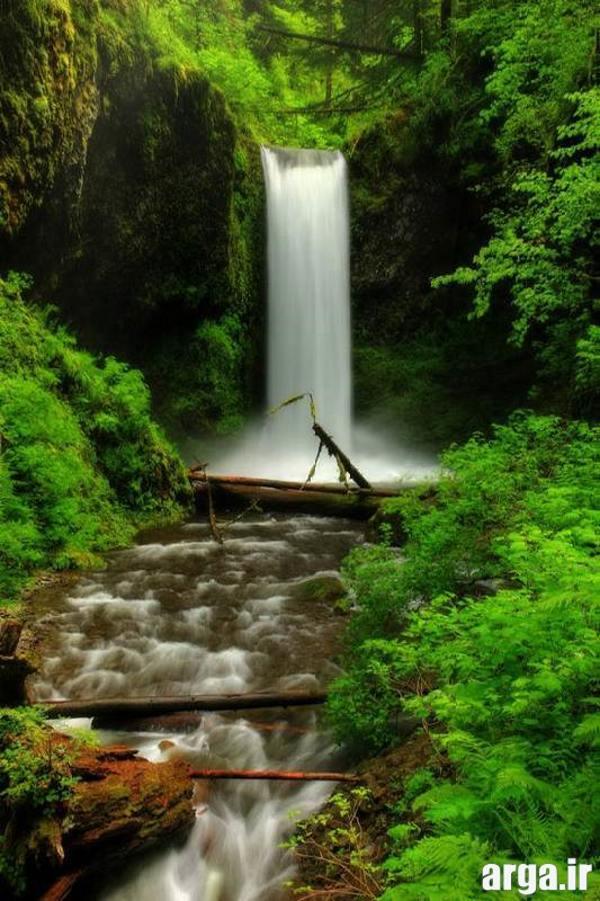 تصاویر زیبای طبیعت آبشار