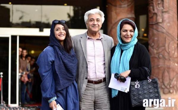 تهمینه میلانی و همسر و دخترش