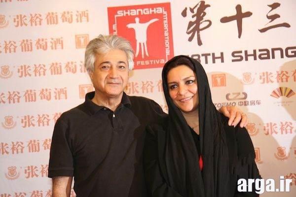 تصویری دیگر از میلانی در کنار همسرش