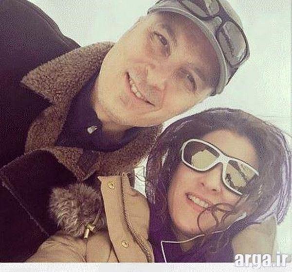 سلفی ویشکا آسایش و همسرش