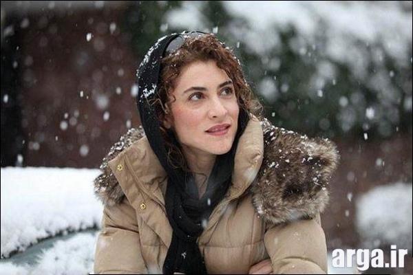 ویشکا آسایش در یک روز برفی