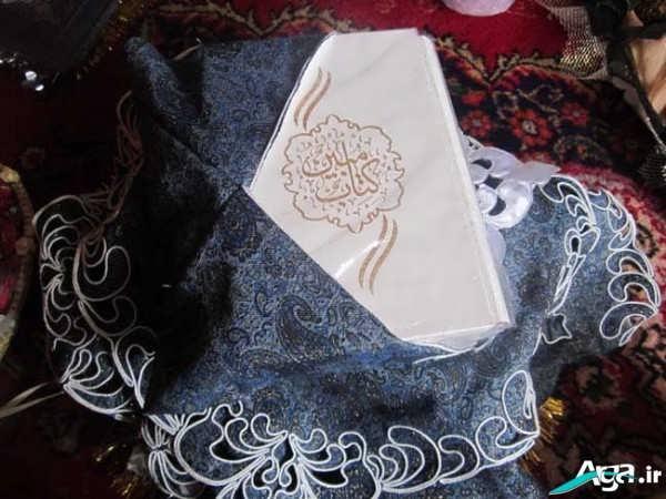 تزیین جعبه قرآن