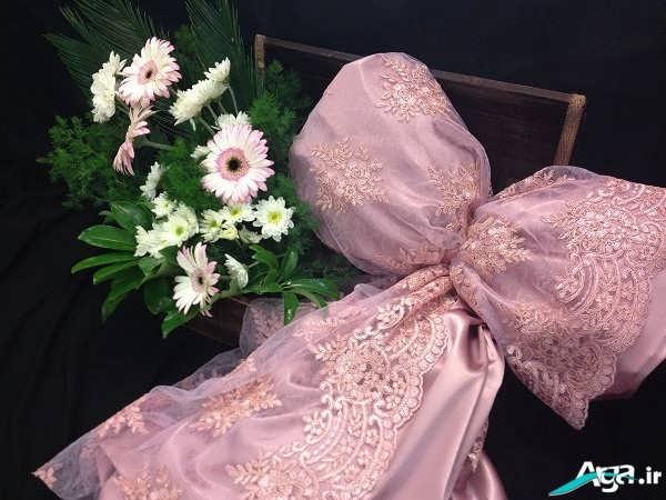 تزیین لباس عروس