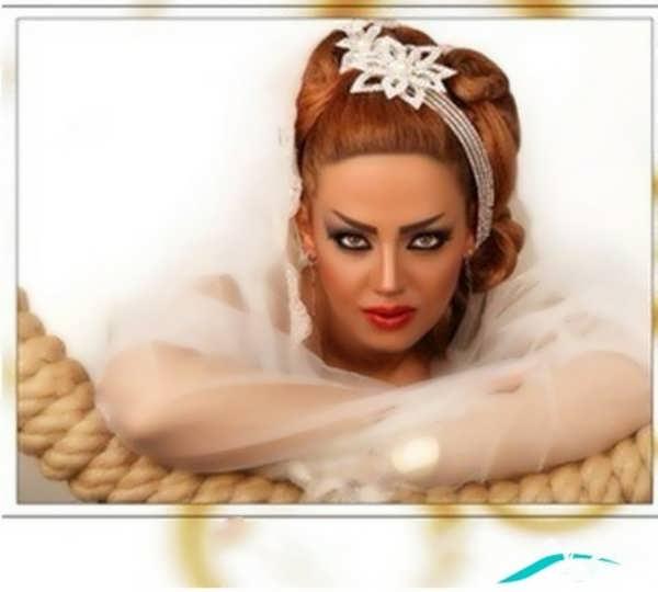 کاماترین مدل آرایش موی عروس مدرن