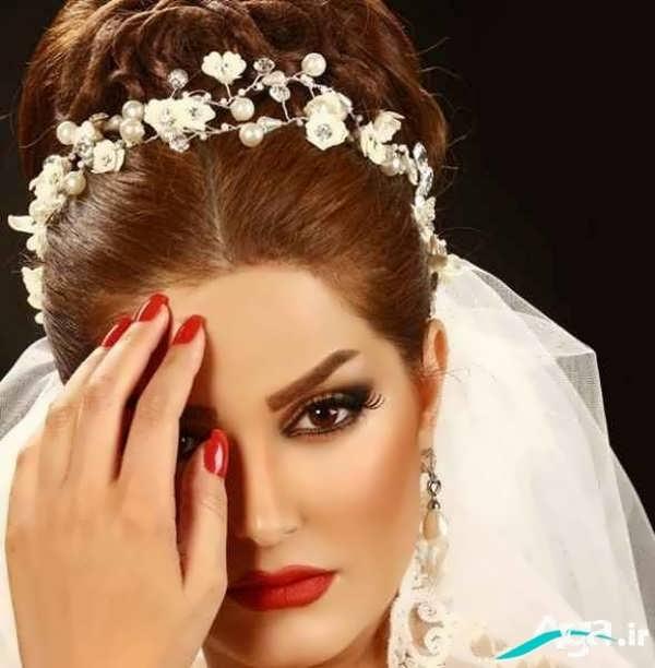 مدل آرایش موی عروس مدرن