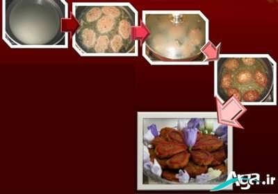 طرزسرخ شدن کتلت گوشت