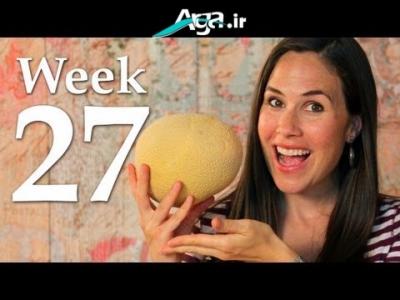 هفته 27 بارداری