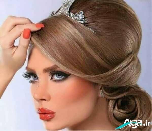 مدل جدید آرایش موی عروس