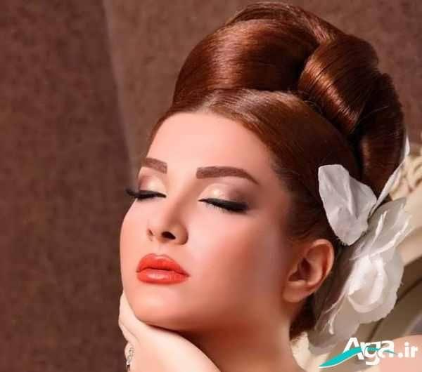عکس مدل موی آرایش عروس مدرن 2016