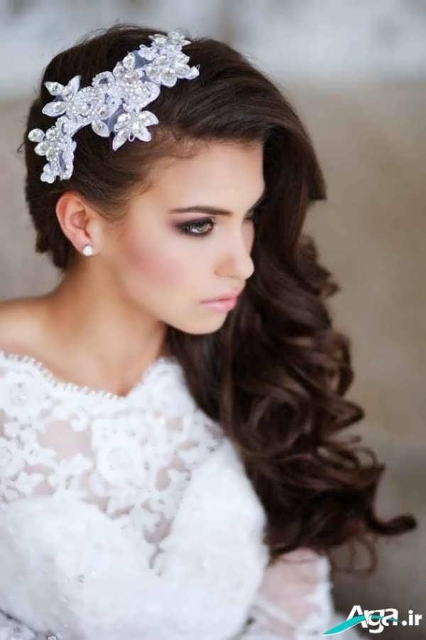 جذاب ترین مدل آرایش موی عروس مدرن