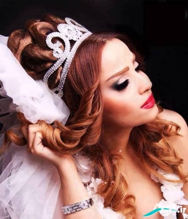 عکس شینیون موی عروس جدید