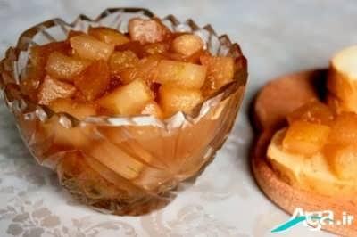طرز تهیه مربای سیب بسیار خوش طعم