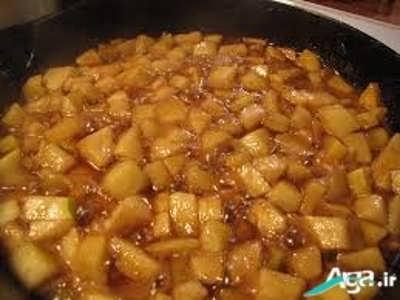 مربای سیب خوش طعم
