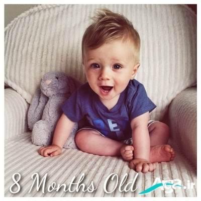 نوزاد 8 ماهه