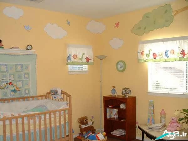 تزیین اتاق نوزاد جدید