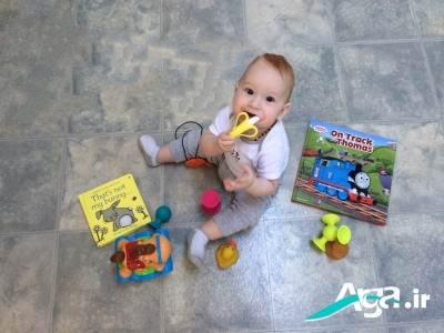 دندان در آوردن کودک