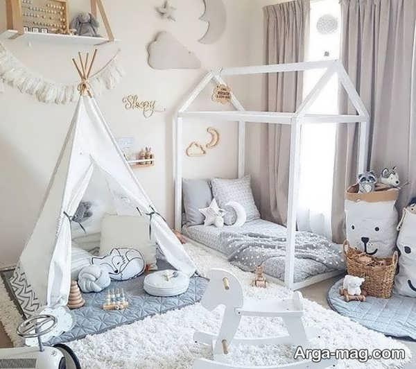 دکوراسیونی از اتاق خواب نوزاد