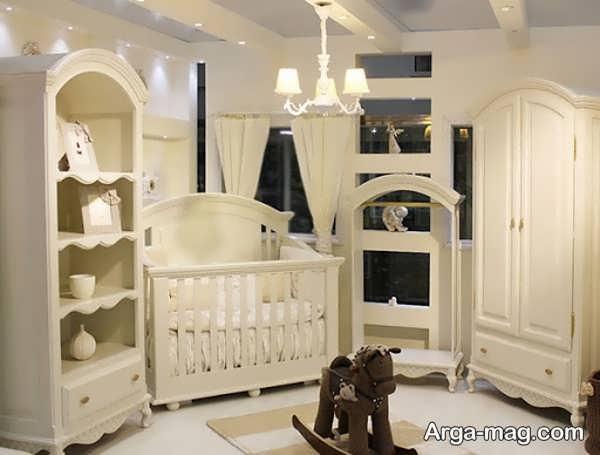 دکوراسیون جدید اتاق خواب نوزاد
