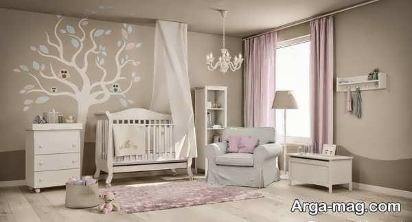 دکوراسیون اتاق خواب کودک زیبا