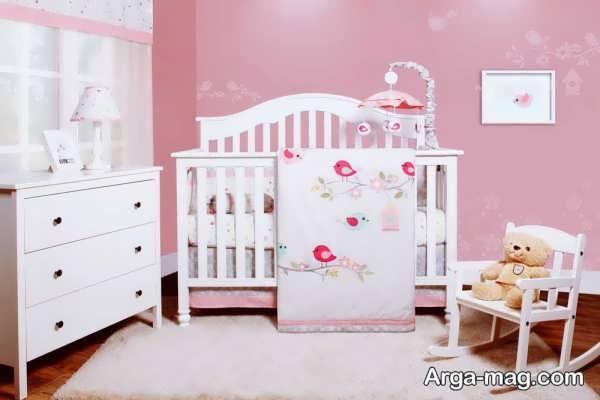 دکوراسیون زیبای اتاق خواب نوزاد