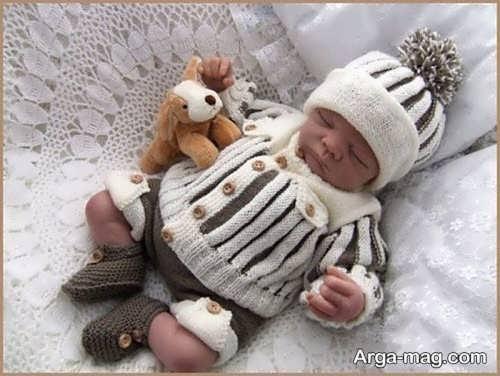 مدل بافت نوزادی زیبا