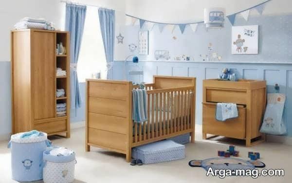 مدلی از سرویس خواب نوزادان
