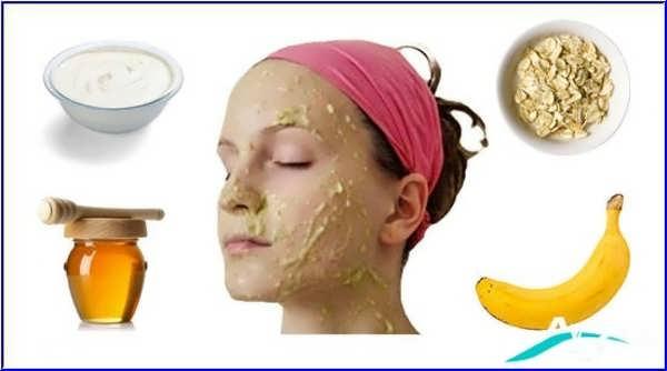 درمان پوست با ماسک موز