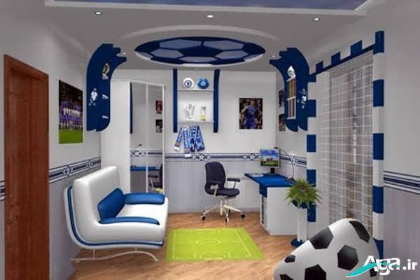 دکوراسیون اتاق خواب جوان