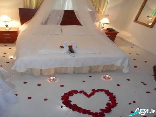 چیدمان اتاق عروس و داماد