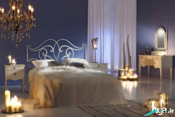 تزیین اتاق خواب عروس جدید