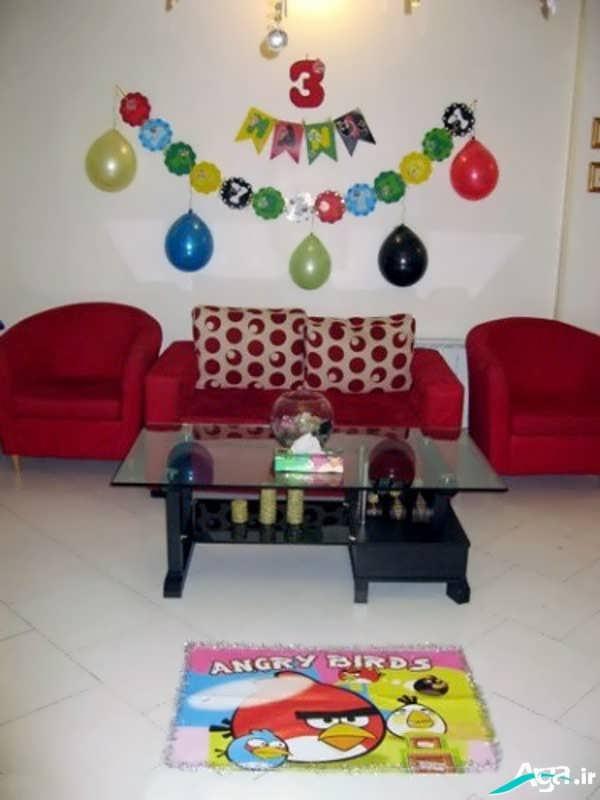 تزیین اتاق برای جشن تولد