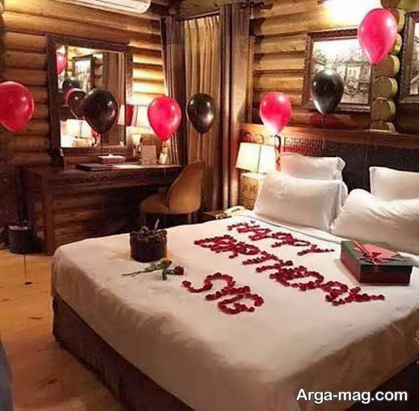 تصاویری از تزیینات اتاق تولد برای همسر