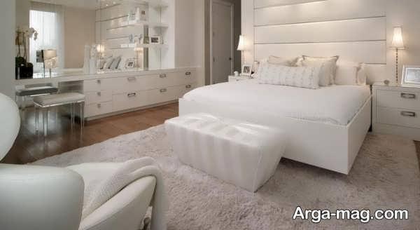 طراحی اتاق خواب عروس با چیدمان رویایی
