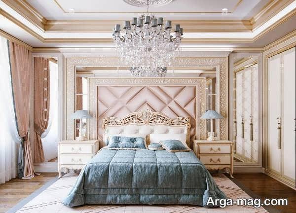 مدل لاکچری طراحی اتاق خواب عروس