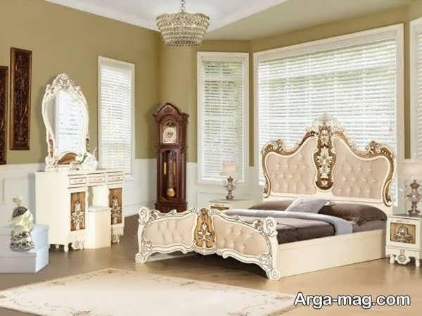 مدل خاص طراحی اتاق خواب عروس