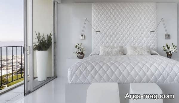 دکوراسیون اتاق خواب عروس با طراحی مدرن