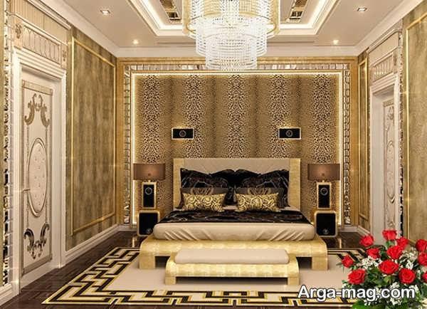 طراحی اتاق خواب عروس با چیدمان فوق العاده