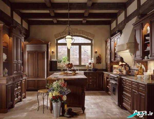 کابینت های کلاسیک و سنتی