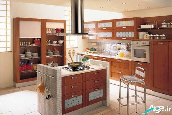 دکوراسیون آشپزخانه کلاسیک