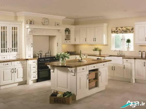 کابینت آشپزخانه کلاسیک و سنتی