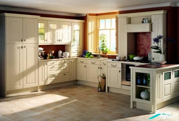 کابینت آشپزخانه کلاسیک و شیک
