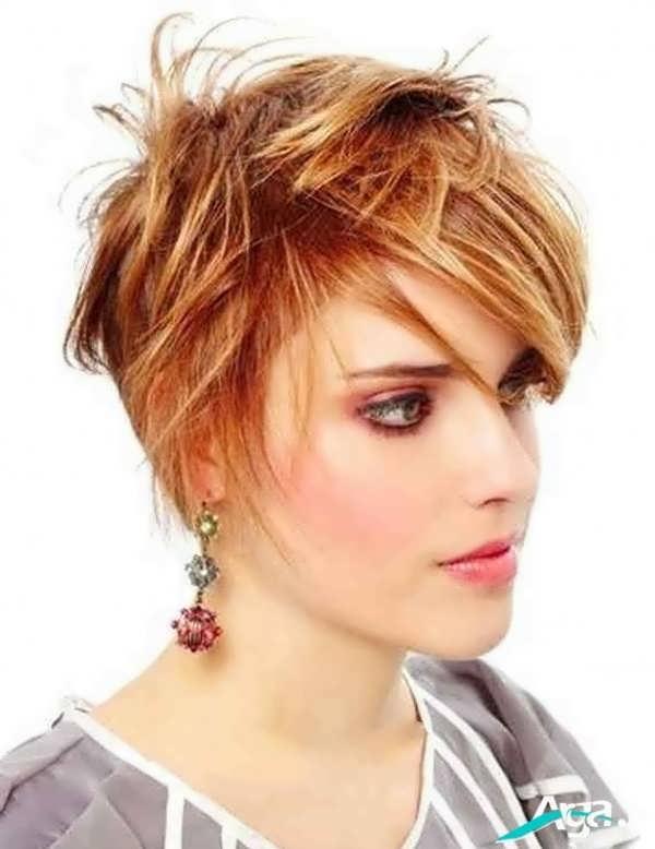 آرایش مدل موی فشن